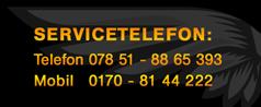 badenlimo servicenummer 0170/8144222